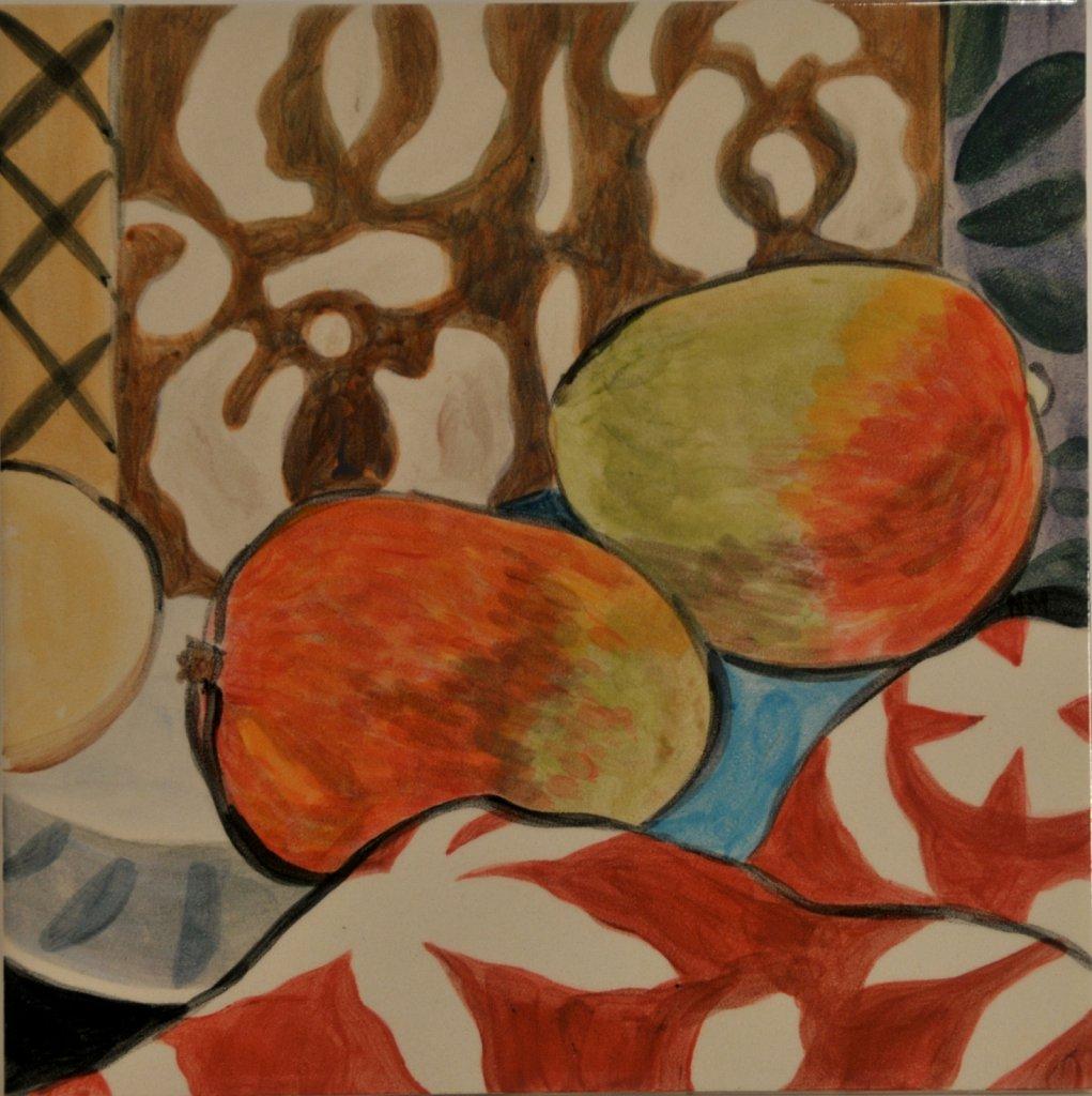 """Single Tile #7, 8"""" W x 8"""" H"""